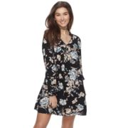Juniors' About A Girl Floral Peasant Dress