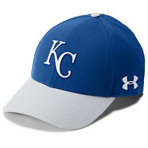 Men's Under Armour Kansas City Royals Driving Adjustable Cap