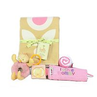3 Stories Trading Co. 6-pc. Sweetie Floral Deluxe Baby Gift Set