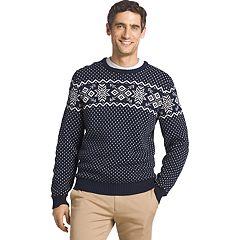 Men's IZOD Regular-Fit Fairisle Crewneck Sweater