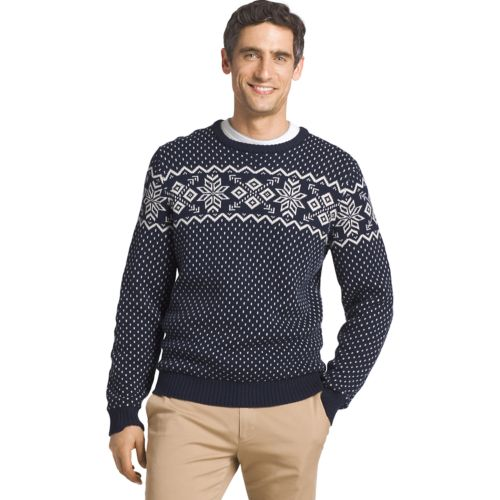 IZOD Regular-Fit Fairisle Crewneck Sweater