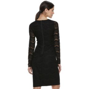 Juniors' Love, Fire Lace-Up Midi Bodycon Dress
