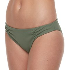 Mix and Match Ribbed Hipster Bikini Bottoms