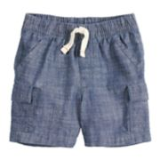 Toddler Boy Jumping Beans® Chambray Cargo Shorts