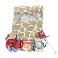 3 Stories Trading Co. 8 pc Sweetie Giraffe Deluxe Baby Gift Set