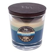 WoodWick Tri-Pour Cabana Beach, Cactus Water, & Indigo Waves 10.5-oz. Candle Jar