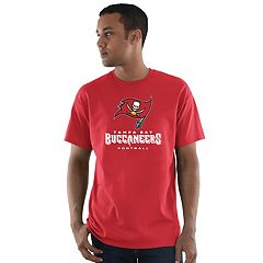 Men's Majestic Tampa Bay Buccaneers Critical Victory Tee