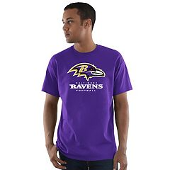 Men's Majestic Baltimore Ravens Critical Victory Tee