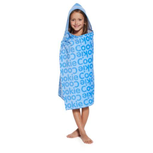 """Sesame Street Cookie Monster """"Always Hungry"""" Hooded Towel by PBS Kids"""
