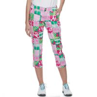 Women's Loudmouth Golf Mixed Print Capris