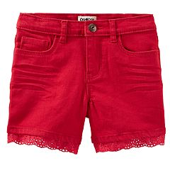 Girls 4-12 OshKosh B'gosh® Eyelet-Trim Shorts