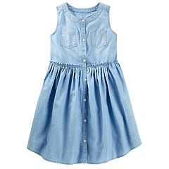 Girls 4-12 OshKosh B'gosh® Chambray Dress