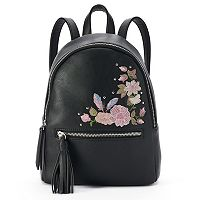 Candie's® Mollie Flowers & Feathers Mini Backpack