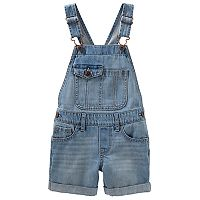 Girls 4-12 OshKosh B'gosh® Pocket Flap Denim Shortalls