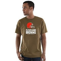 Men's Majestic Cleveland Browns Critical Victory Tee