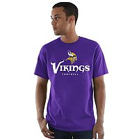 Men's Majestic Minnesota Vikings Critical Victory Tee