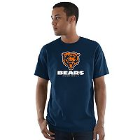 Men's Majestic Chicago Bears Critical Victory Tee