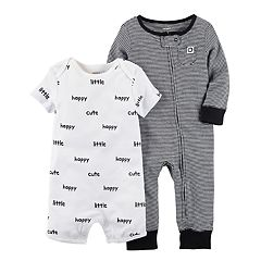 Baby Boy Carter's Printed Jumpsuit & Romper Set