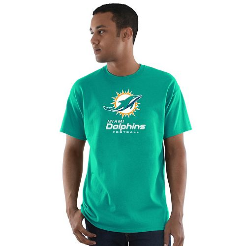 Men's Majestic Miami Dolphins Critical Victory Tee