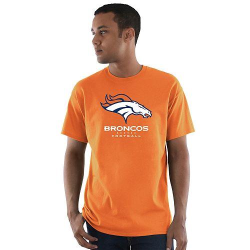 Men's Majestic Denver Broncos Critical Victory Tee