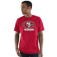 Men's Majestic San Francisco 49ers Critical Victory Tee
