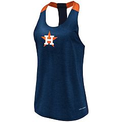 Women's Majestic Houston Astros Racerback Tank Top