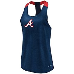 Women's Majestic Atlanta Braves Racerback Tank Top