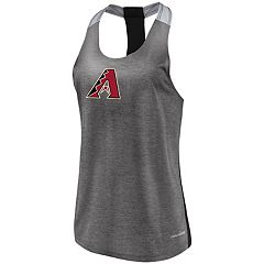 Women's Majestic Arizona Diamondbacks Racerback Tank Top