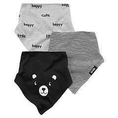 Baby Carter's 3-pk. Printed Bandana Teething Bib