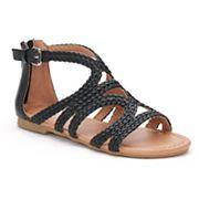 SO® Stagehand Girls' Gladiator Sandals