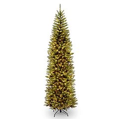 National Tree Company 10-ft. Pre-Lit Kingswood Fir Pencil Artificial Christmas Tree