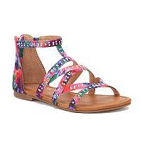 SO® Ring Toss Girls' Gladiator Sandals