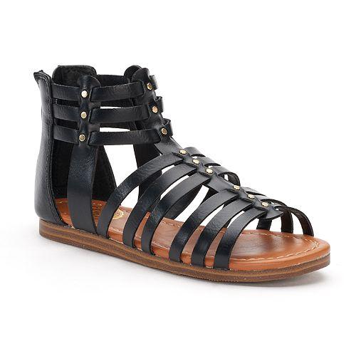 SO® Applaud Girls' Gladiator Sandals