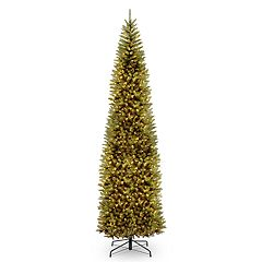 National Tree Company 12-ft. Pre-Lit Kingswood Fir Pencil Artificial Christmas Tree