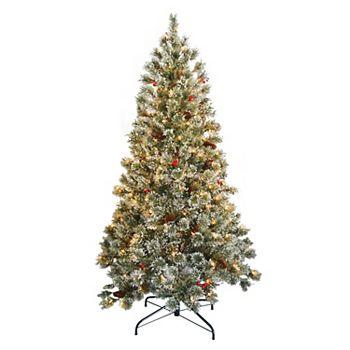 national tree company 6 ft pre lit crystal cashmere artificial christmas tree - Cashmere Christmas Tree