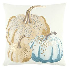 Rizzy Home Muted Pumpkins I Throw Pillow
