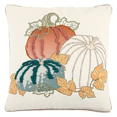 Rizzy Home Pumpkin Trio I Throw Pillow