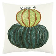 Rizzy Home Large Gourd Throw Pillow