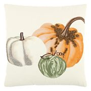 Rizzy Home Pumpkin Trio II Throw Pillow