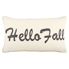 Rizzy Home 'Hello Fall' Oblong Throw Pillow