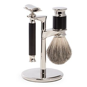 Bey-Berk Safety Razor & Pure Badger Brush