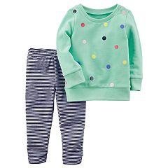 Toddler Girl Carter's Sweatshirt & Leggings Set