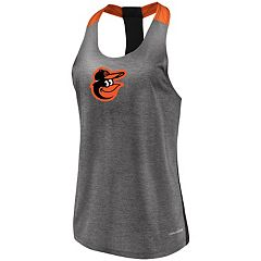 Women's Majestic Baltimore Orioles Racerback Tank Top