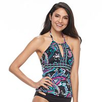Women's Apt. 9® High Neck Keyhole Tankini Top