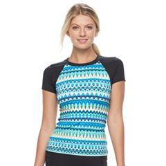 Women's Apt. 9® Printed Rash Guard