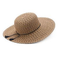 Women's SONOMA Goods for Life™ Scallop Braid Floppy Hat