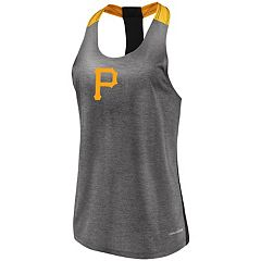 Women's Majestic Pittsburgh Pirates Racerback Tank Top
