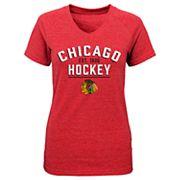 Girls 7-16 Chicago Blackhawks Flawless Tee