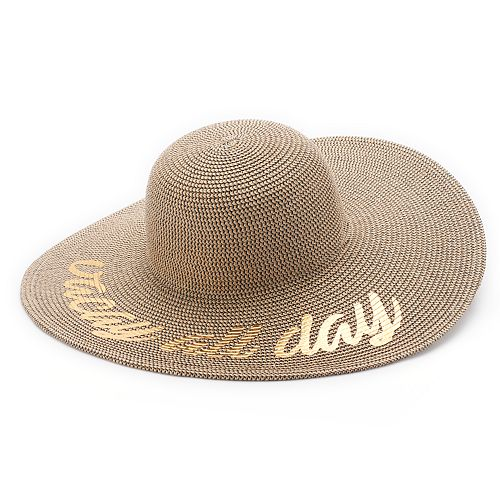 "Women's SONOMA Goods for Life™ Woven ""Vacay All Day"" Floppy Hat"