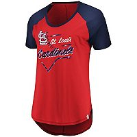 Women's Majestic St. Louis Cardinals Shake Up Tee
